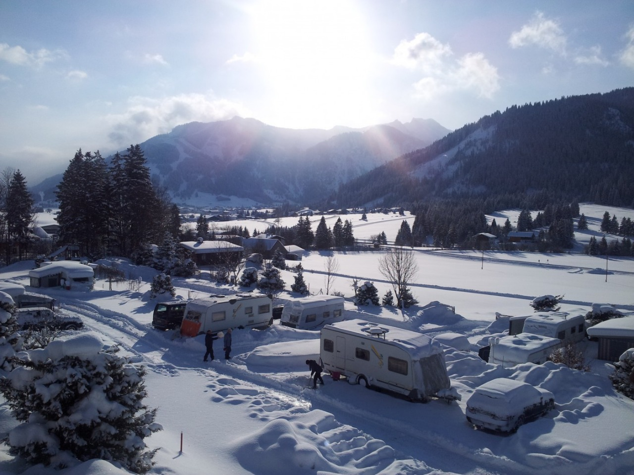 Pension and Camping Alpenwelt