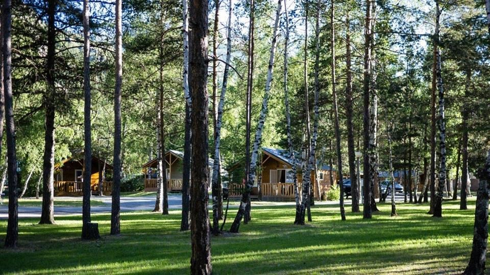 Camping Caravaneige the Iscle Prelles