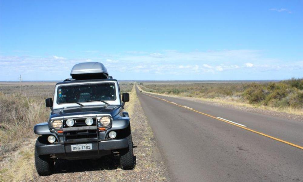 Rota de Buenos Aires a Ushuaia ao longo da Ruta 3