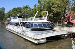 Passeo de barco en los canales del Tigre