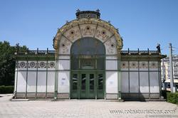 Pavilhões Stadtbahn de Otto Wagner