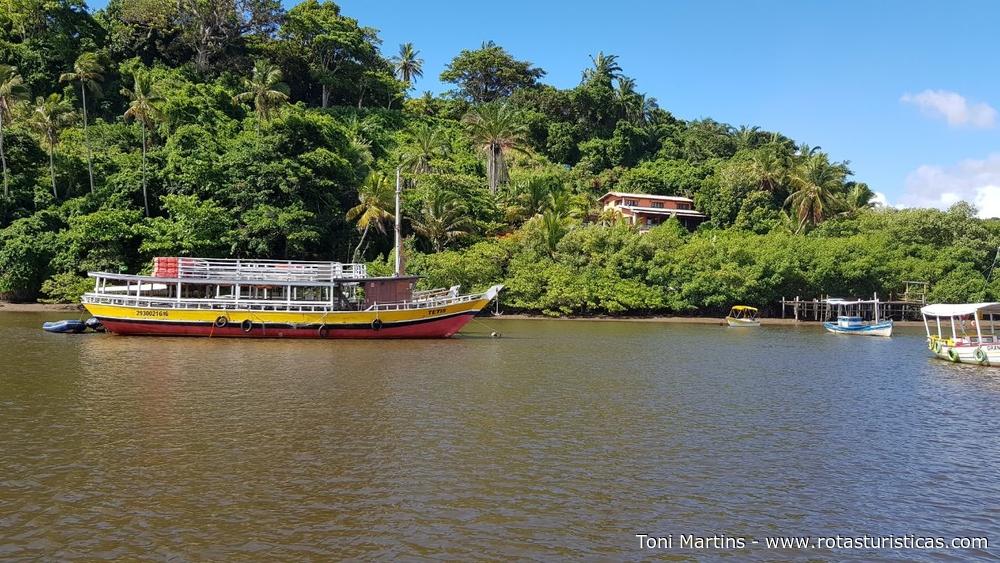 Rio João de Tiba em Santa Cruz Cabrália