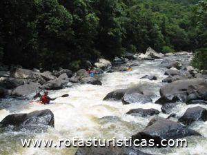 Rafting en el Río Itajaí-azu (Timbó)