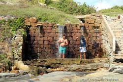 Nascentes de água de Praia das Fontes / Ceará