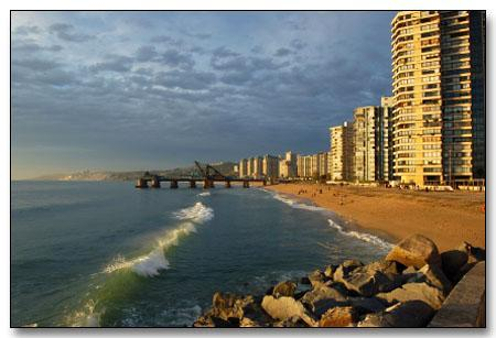 Beaches of Viña del Mar