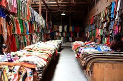 Mercado de roupa