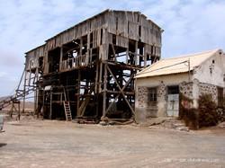 Terminal do sal das salinas de Pedra de Lume