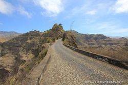 Mountain pass (island of Santo Antão - Cape Verde)
