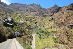 Green valleys (island of Santo Antão - Cape Verde)