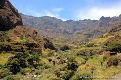 Island of Santo Antão Green valleys (Cape Verde)