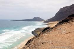 Costa norte da Ilha de São Vicente (Cabo Verde)