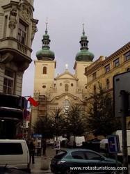 Kostel Chrám Matky bozí pred Týnem
