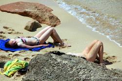 Ibiza, Cala Comte (paraíso para os amantes do naturismo/nudismo)
