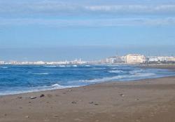 Praia de Torregorda (Cádiz)