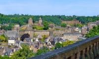 Fougeres, Bretagna - Vila Medieval