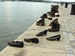 Memorial Sapatos às Margens do Danúbio (Budapeste)