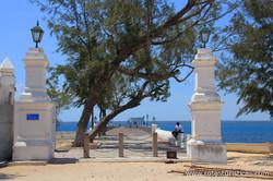 Acesso ao Cais da Alfândega (Ilha de Moçambique)