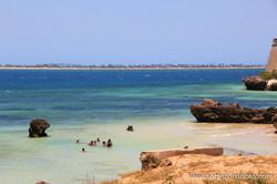 Praia da Fortaleza (Ilha de Moçambique)