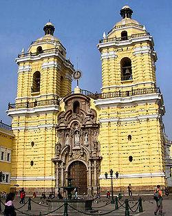 Basilique et couvent de Saint François de Lima