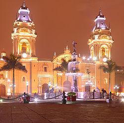 Basilique Cathédrale de Lima