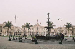 Palais du gouvernement du Pérou