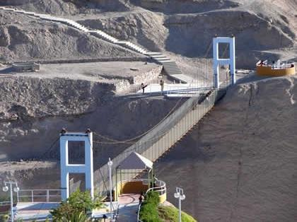 Pont suspendu de Moquegua