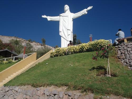 Christ blanc de Moquegua