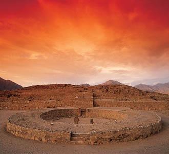 Ville sacrée de Caral (Pérou)