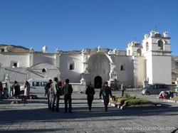 Igreja de Yanque - Arequipa