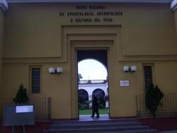 Museu Nacional de Antropologia, Arqueologia e História.