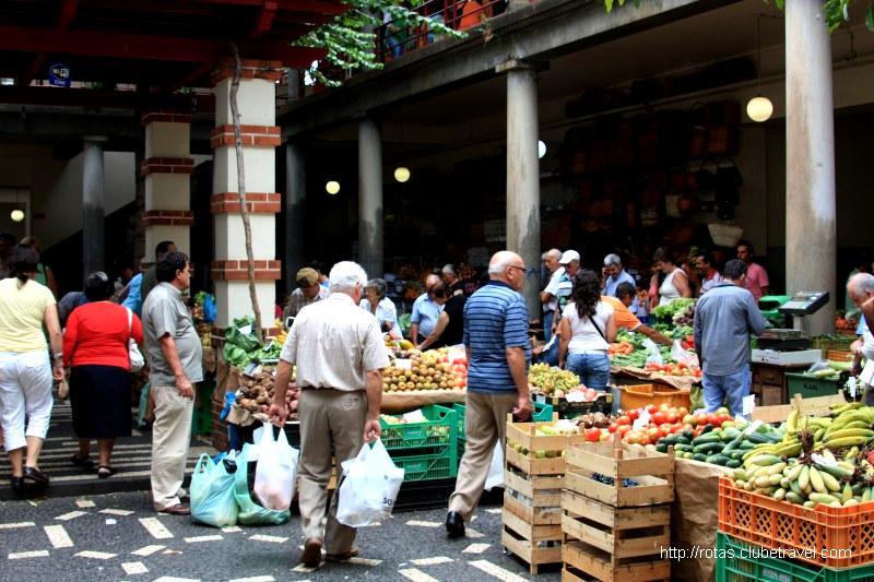 Mercado dos Lavradores do Funchal (Ilha da Madeira)