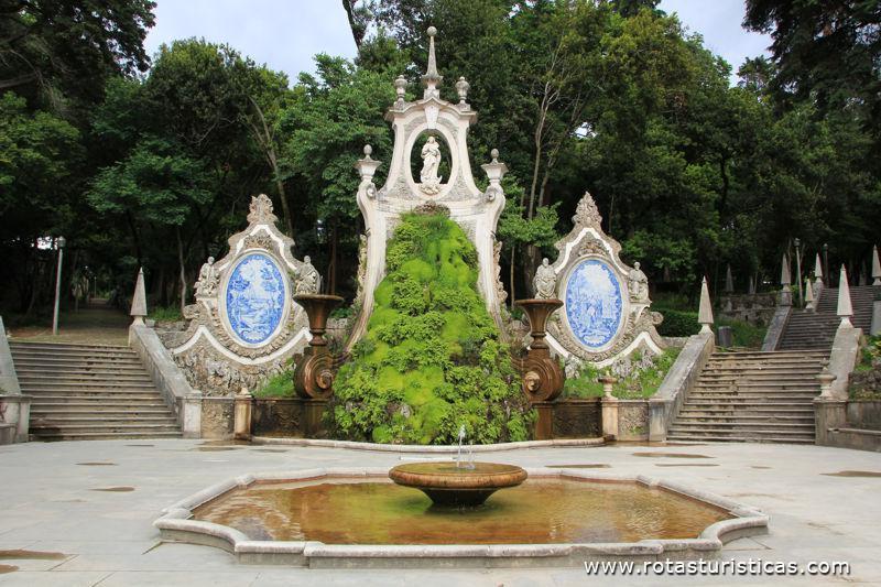 Fountain of the Gardens of the Sereia (Coimbra)