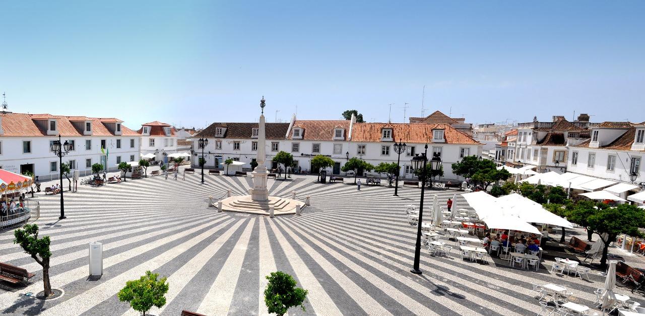 Plaza Marqués de Pombal (Vila Real de Santo António)