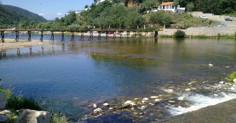 Palheiros and Zorro river beach