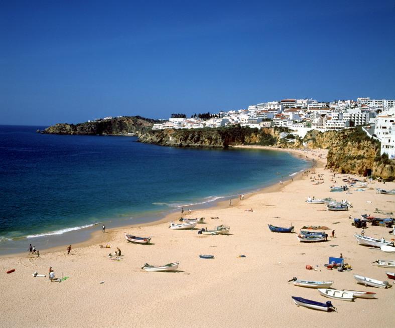 Spiaggia di Albufeira (Algarve)