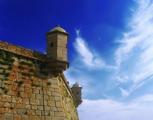 São Francisco Xavier Fort - Schloss von Queijo (Porto)