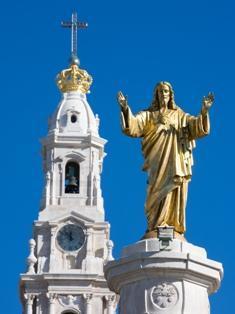 Monumento al Sagrado Corazón de Jesús - Santuario de Fátima
