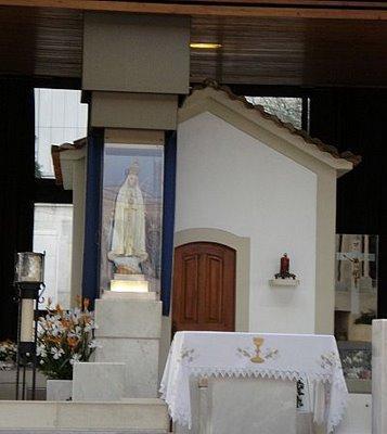Capelinha de las Apariciones - Santuario de Fátima