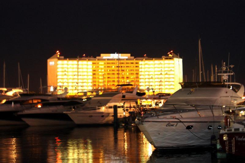 Marina de Vilamoura à noite