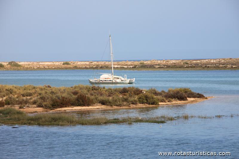 Praia da Ilha de Cabanas (Algarve)