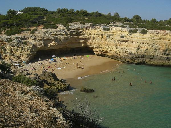 Praia de Albandeira (Lagoa)