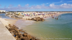 Praia do Molho Leste em Peniche