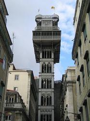 Elevator of Santa Justa (Lisbon)