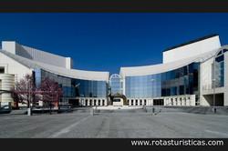 El nuevo edificio del Teatro Nacional Eslovaco (Bratislava)