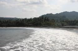 Praia de São João dos Angolares (Ilha de São Tomé)