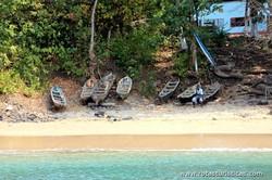 Praia dos pescadores de Santana (Santana)
