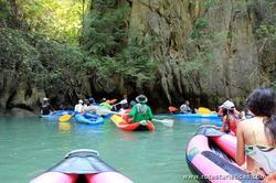 Passeio de canoa em Ko Hong island / Phang Nga National Park - (Phuket/Tailandia)